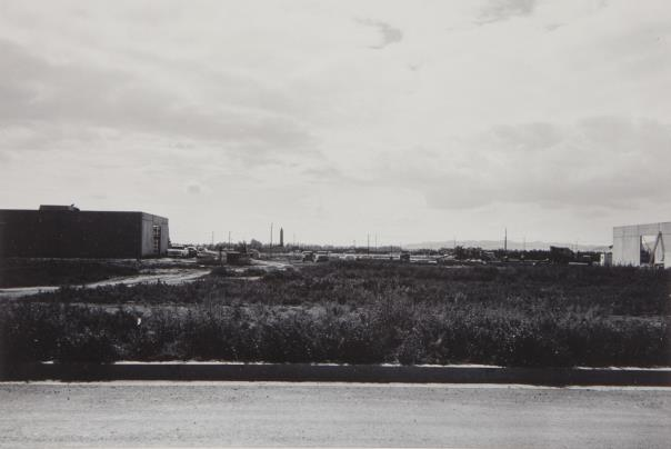 Lewis Baltz-New Industrial Parks #34 (Milliken Road Between Gates And Dubridge Roads Looking East)-1974