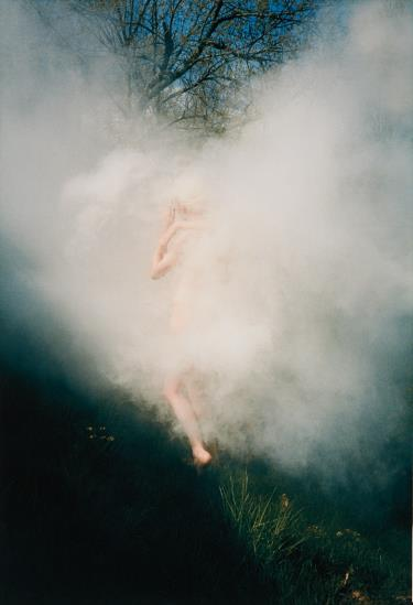Ryan McGinley-Untitled (Blonde Smoke)-2007