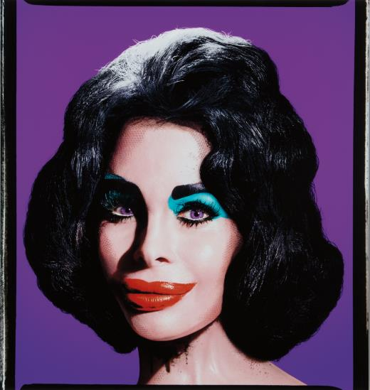 David LaChapelle-Amanda As Andy Warhol's Liz In Purple-2007
