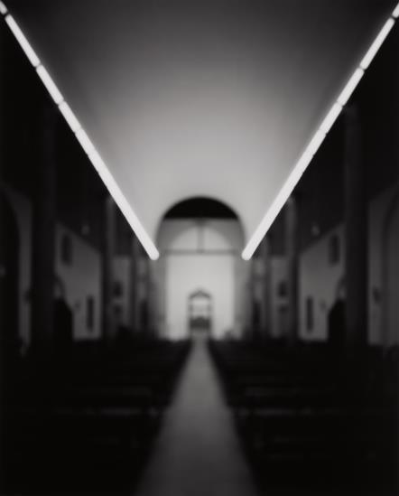 Hiroshi Sugimoto-Chiesa Rossa, Muzio With Dan Flavin-1998