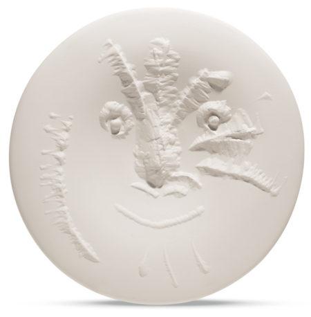 Pablo Picasso-Visage En Gros Relief (A. R. 505)-1963