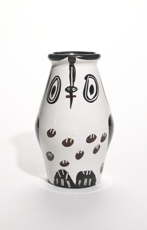 Pablo Picasso-Hibou Marron Noir (A. R. 123)-1951