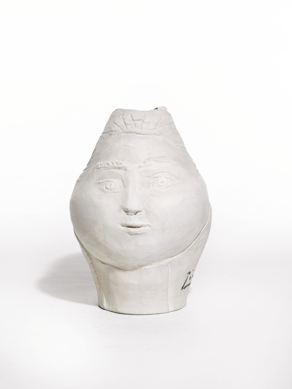 Pablo Picasso-Tete De Femme Couronnee De Fleurs (A. R. 236)-1954