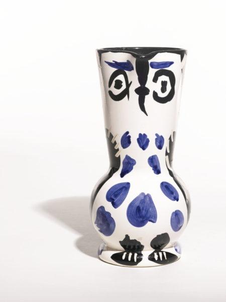 Pablo Picasso-Cruchon Hibou (A. R. 293)-1955