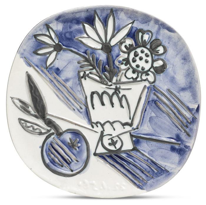 Pablo Picasso-Bouquet A La Pomme (A. R. 305)-1956
