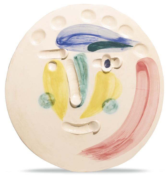 Pablo Picasso-Tete (A. R. 372)-1956