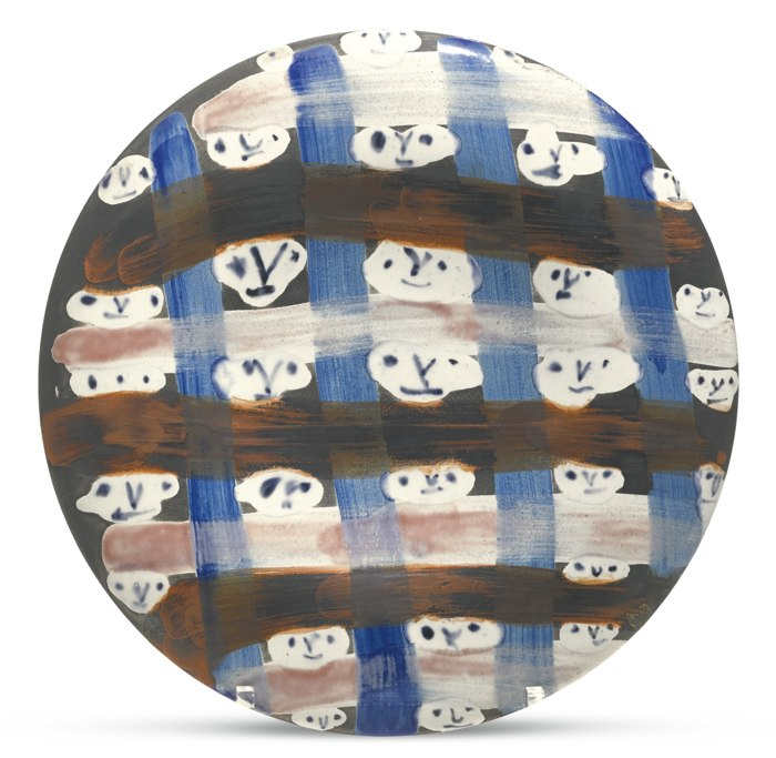 Pablo Picasso-Petits Visages No. 57 (A. R. 468)-1963
