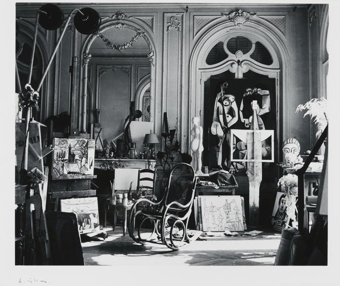 Andre Villers-Picasso's Studio At Villa La Californie, Cannes, 1965-1965