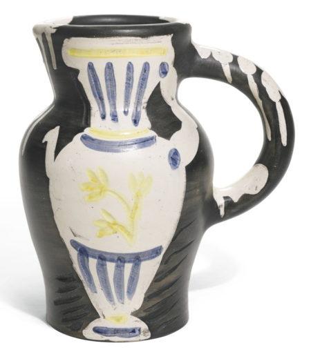 Pablo Picasso-Pichet Au Vase (A. R. 226)-1954