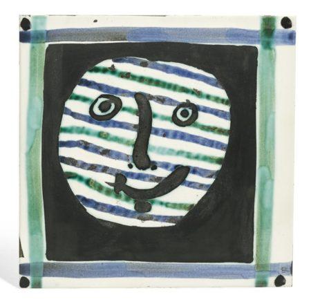 Pablo Picasso-Masque (A. R. 310)-1956