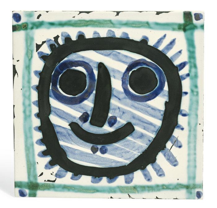 Pablo Picasso-Masque (A. R. 311)-1956