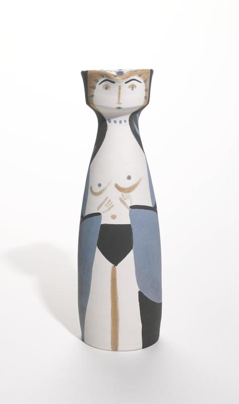 Pablo Picasso-Femme (A. R. 297)-1955