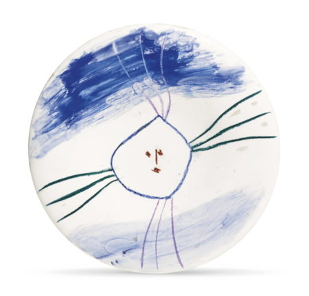 Pablo Picasso-Petit Visage No. 13 (A. R. 461)-1963