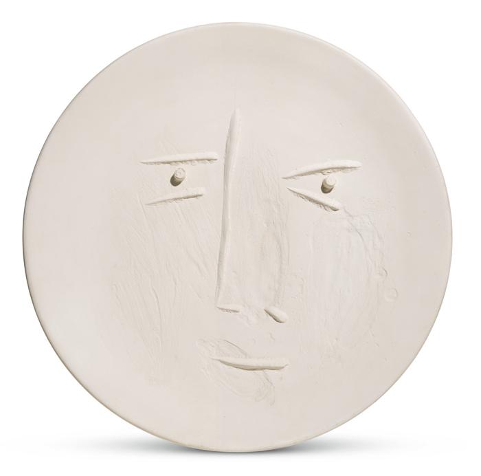 Pablo Picasso-Visage De Face (A. R. 442)-1960