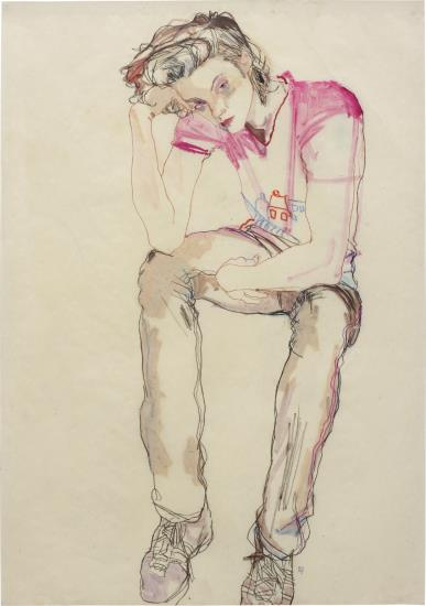 Howard Tangye-Arthur (In Pink House T-Shirt)-2005