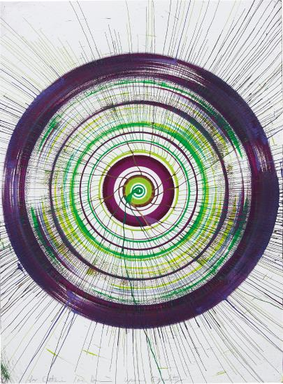 Damien Hirst-Spin Drawing For Women'S Equality-2015