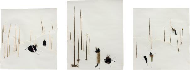 Jon Pylypchuk-Three Works: (I) Untitled (Just Hand Me My Pants); (II) Untitled (Holy Fuck); (III) Untitled (Later Bro)-2005
