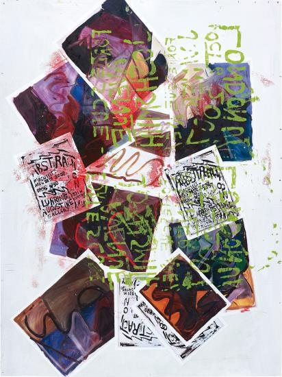 Josh Smith-Untitled (Collage)-2007