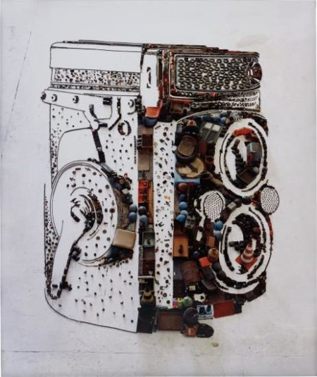 Vik Muniz-Rolleiflex (From Pictures Of Junk Series)-2010