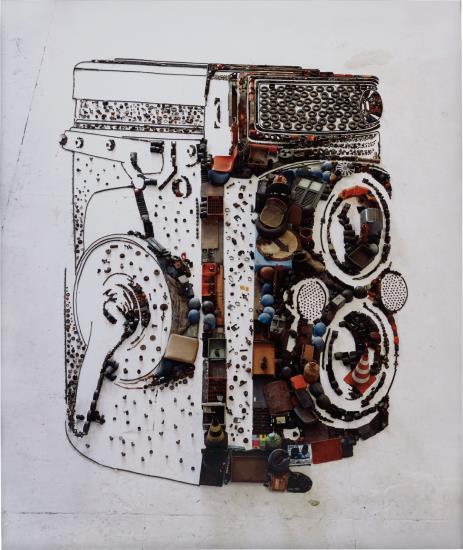 Vik Muniz-Rolleiflex (From Pictures Of Junk Series)-2010