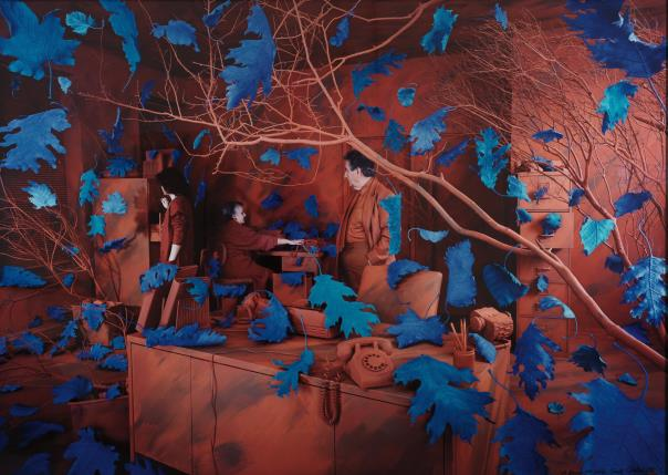 Sandy Skoglund-A Breeze At Work-1987