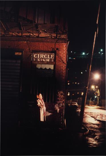 Nan Goldin-Untitled (From Variety Series #103)-1983