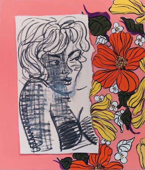 Ella Kruglyanskaya-Untitled (Miami I)-2013