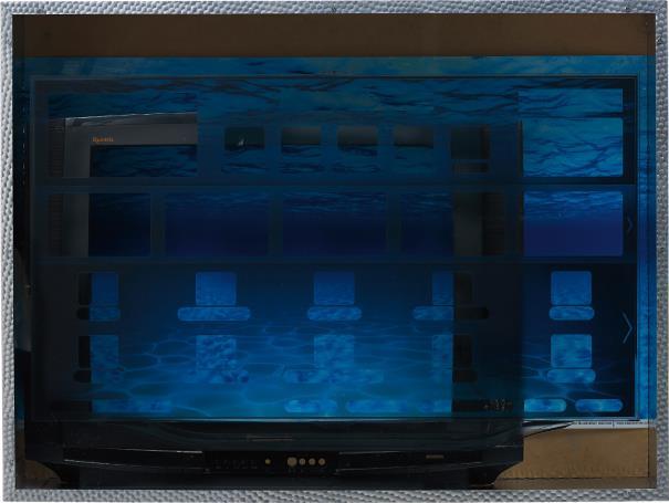 Simon Denny-Underwater Empty Vessel-2013