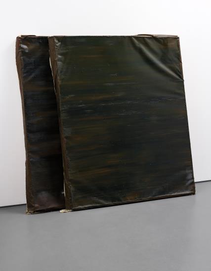 Angela de la Cruz-Camouflage Painting-1998