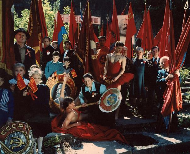 Arsen Savadov-Collective Red (Part 2)-1999