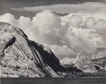 Ansel Adams-Tenaya Lake, Mount Conness, Yosemite National Park, California-1946