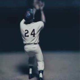 David Levinthal-Untitled (Willie Mays, No. 43), from the series 'Baseball'-2003