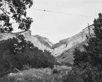Robert Adams-Wasatch Mountains, Near Willard, Utah-1979