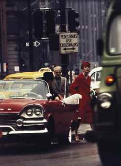 William Klein-Cruiser + Anne St. Marie, New York-1962