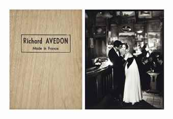Richard Avedon-(i) Made in France' with signed print of 'Suzy Parker and Gardner McKay, Cafe des Beaux Arts, Paris August 1956, San Francisco: Fraenkel Gallery, 2001; (ii) Encolsed print-2001