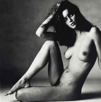 Irving Penn-Nude Christy Turlington, New York-1993