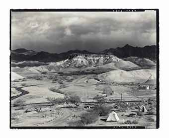 Edward Weston-Our Camp, Texas Springs, Death Valley-1938