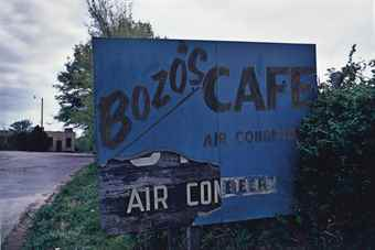 William Eggleston-Tennessee (Bozo's Cafe)-1972