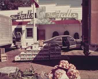 Stephen Shore-U.S. 10, Post Falls, Idaho-1974