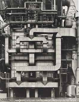 Bernd and Hilla Becher-Chemische Fabrik Wesseling bei Koln (Chemical Factory Wesseling near Cologne)-1998
