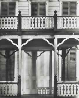 Walker Evans-Detail of a Frame House in Ossining, New York-1931