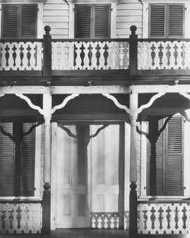 Walker Evans-Detail of a Frame House in Ossining, New York-1931