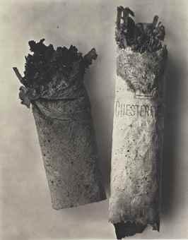 Irving Penn-Cigarette #34, New York-1972