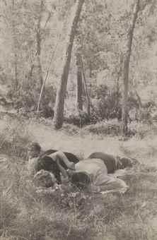 Robert Frank-Idyll in the Woods, Spain-1951