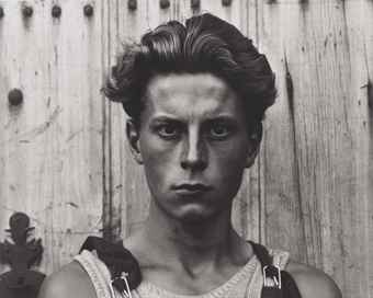 Paul Strand-Young Boy, Gondeville, France-1951