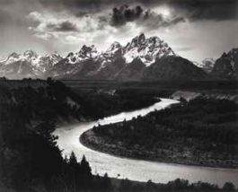 Ansel Adams-The Tetons and the Snake River, Grand Teton National Park, Wyoming-1942