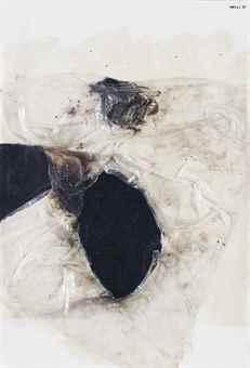Alberto Burri-Combustione (Combustion)-1970