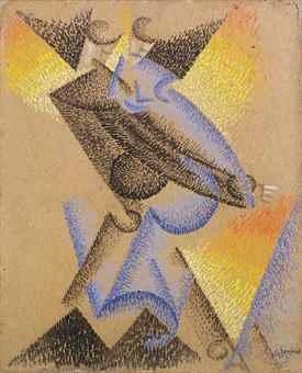 Gino Severini-Tango argentino (Argentinian tango)-1913