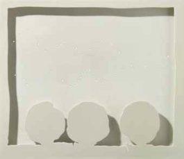 Lucio Fontana-Concetto spaziale, (Teatrino) (Spatial concept, little theater)-1965