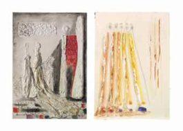 Fausto Melotti-Lotto di due opere: (i) (ii) 'Senza titolo' (Untitled)-1977